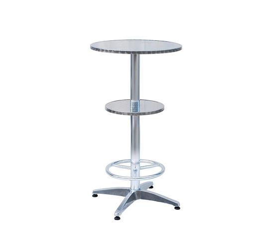 Duzzle greenwood moia tavolo alto con poggiapiegi alluminio bt06 rotondo