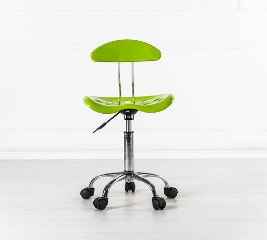 Duzzle sedia con ruote verde stones titti arredo fronte