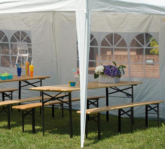Duzzle greenwood moia setb3 panche tavolo catering panche da esterno set birreria
