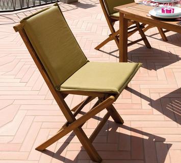 Duzzle greenwood sedia pieghevole salina salina ch501 mobili in teak