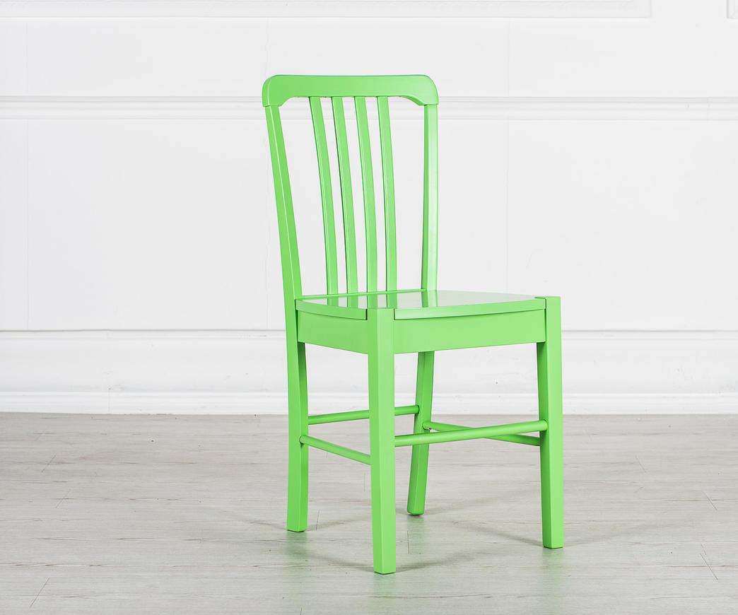 Sedia in legno Alexa verde OM/168/VE