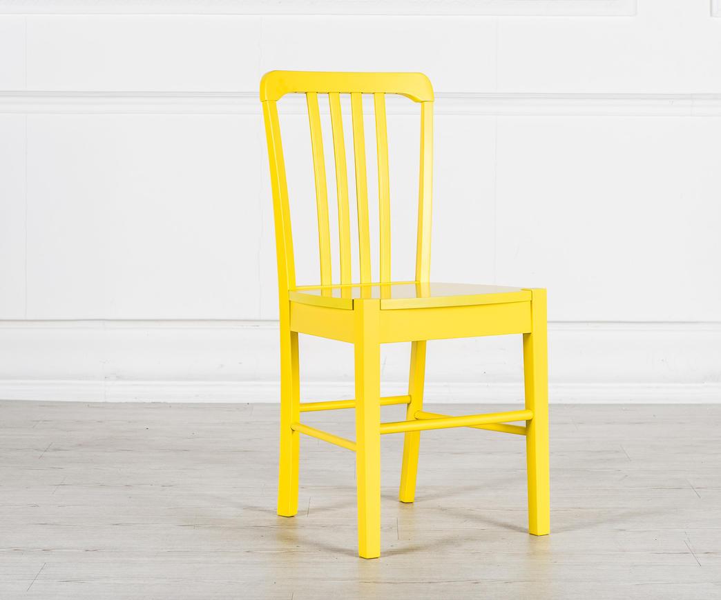 Sedia in legno Alexa Gialla OM/168/GI | Duzzle
