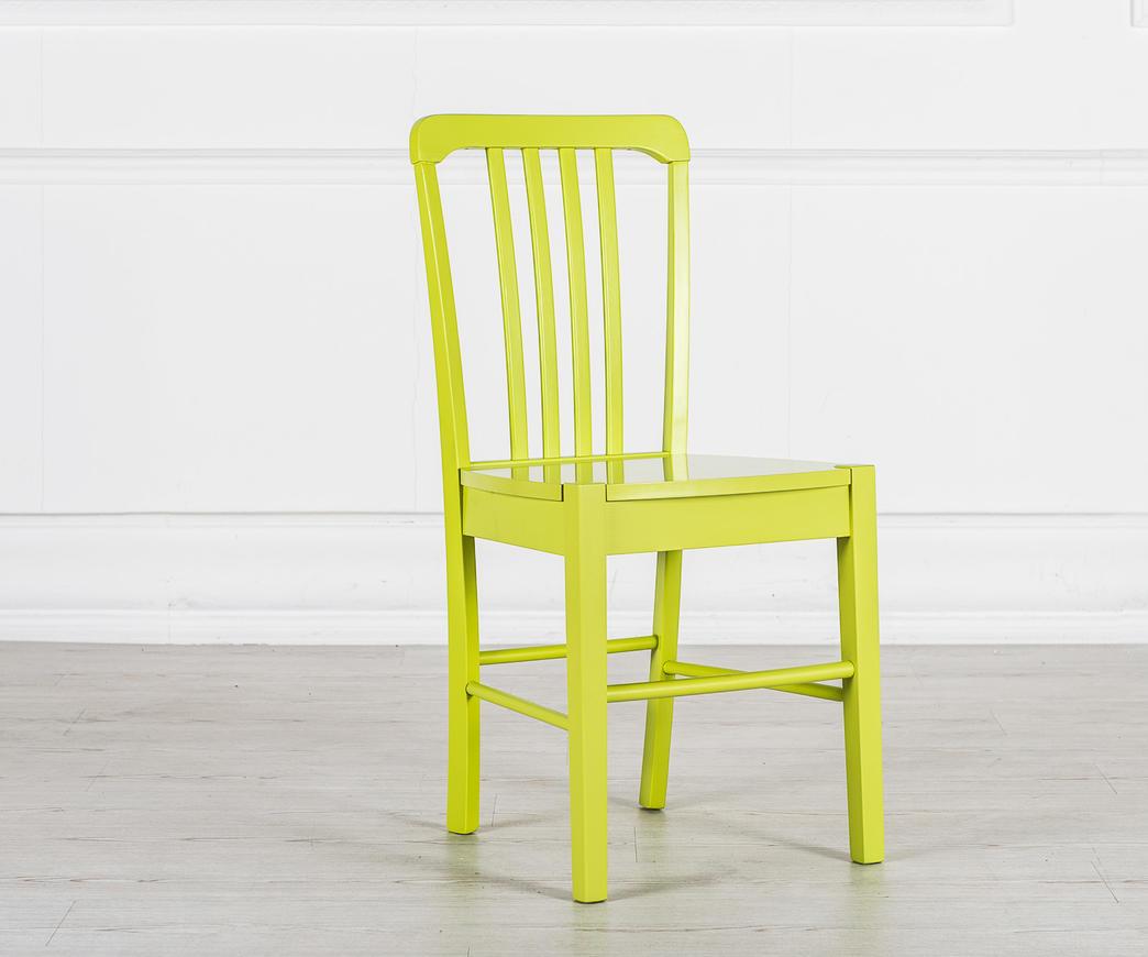 Sedia in legno alexa lime om lg duzzle