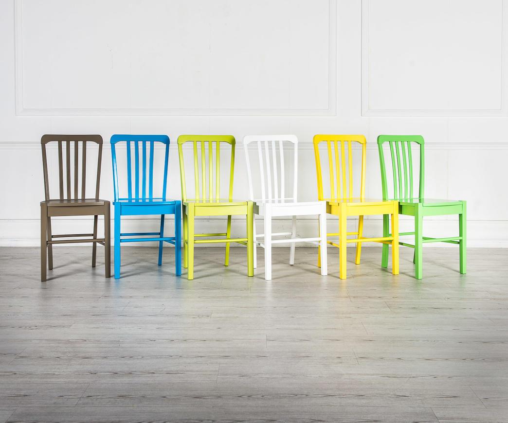 Sedie In Legno Colorate : Sedia in legno alexa blu om bl duzzle
