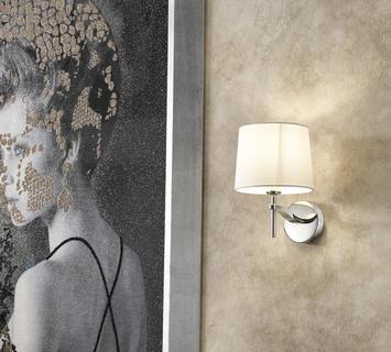 Duzzle lampada applique grace bianca stones
