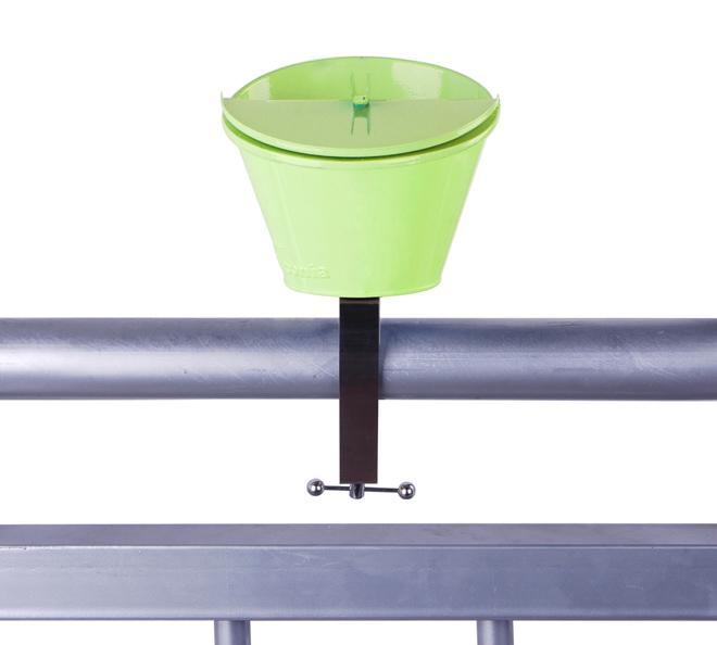Posacenere da balcone verde duzzle for Posacenere da esterno ikea