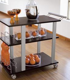 Carrelli cucina: legno, metallo o richiudibile | Duzzle
