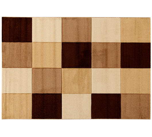 Tappeto checker beige 18708