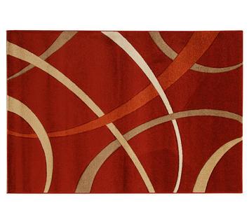 Tappeto saturno rosso