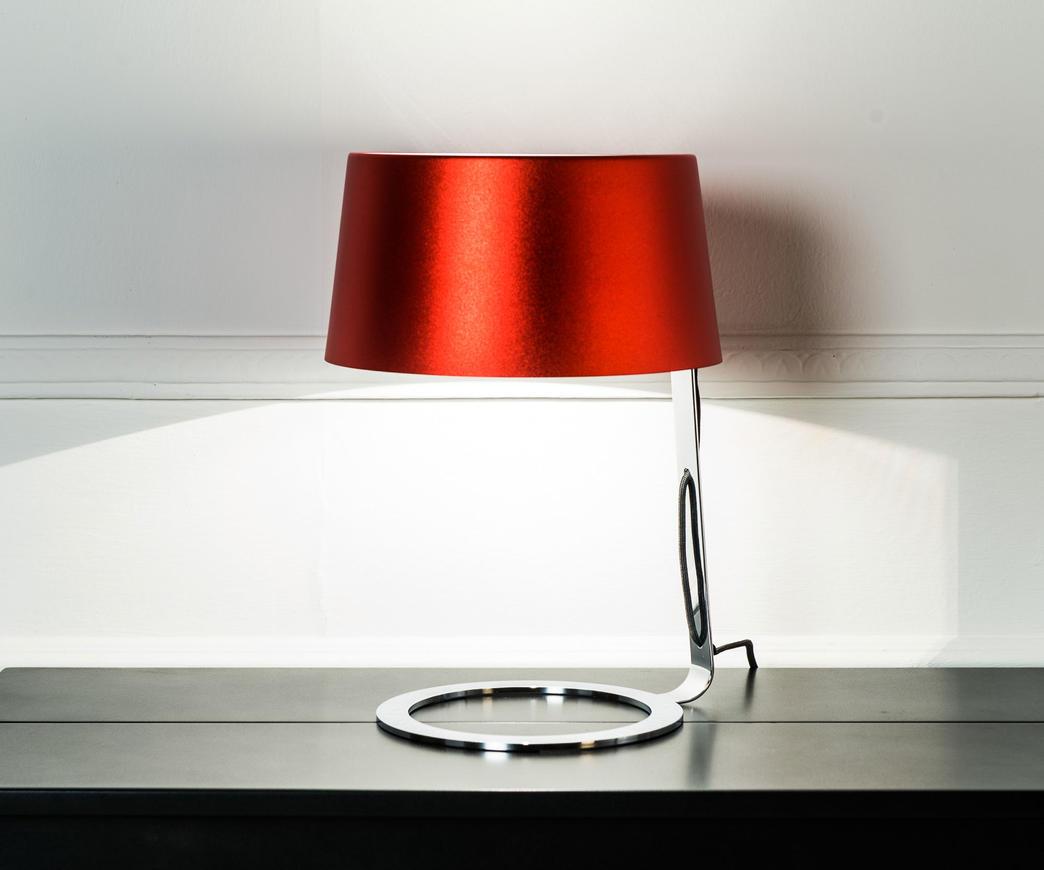 Lampada da tavolo rossa media la 033 br duzzle - Amazon lampade da tavolo ...