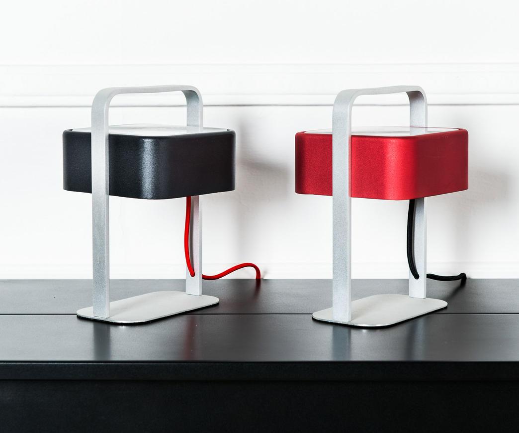 Lampada da tavolo alluminio rosso la 034 r duzzle - Amazon lampade da tavolo ...