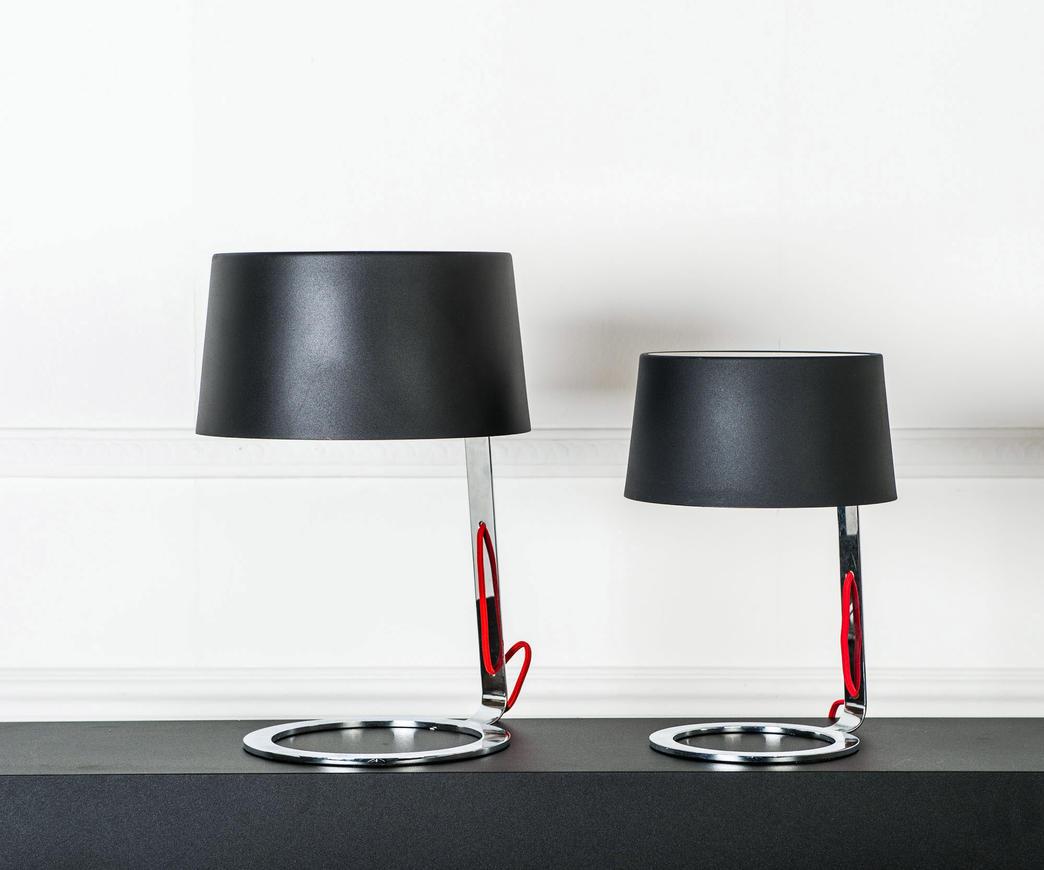 lampada da tavolo nera media la 033 bn duzzle