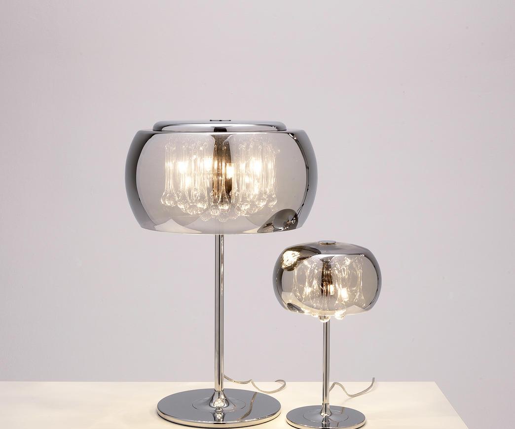 Lampada da tavolo cromo la 035 b duzzle - Lampade da specchio ...