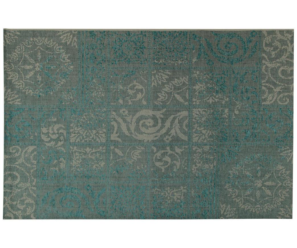 Tappeti Bagno Turchese : Tappeto versailles turchese duzzle
