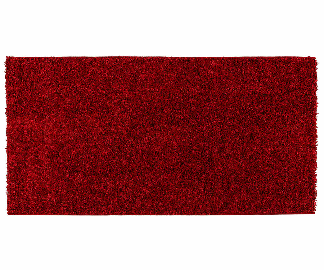 Tappeto Morbidotto : Tappeto comfort rosso duzzle