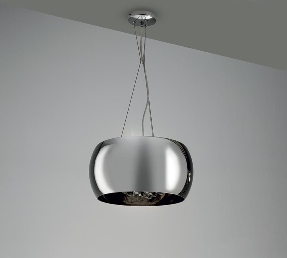 lampada da soffitto cromo la 038 duzzle