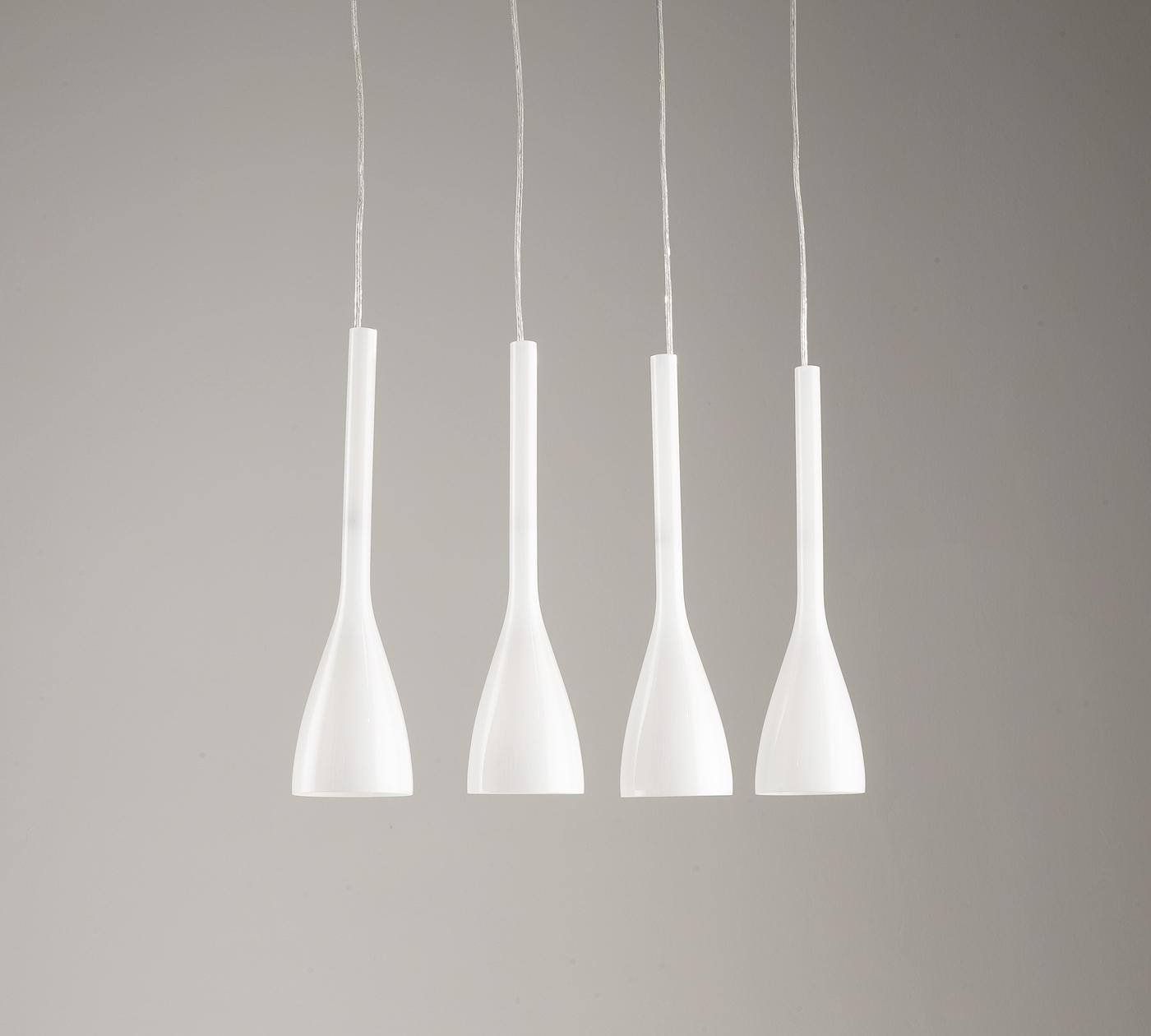 Lampada da soffitto bianca la 039 b duzzle for Flos illuminazione