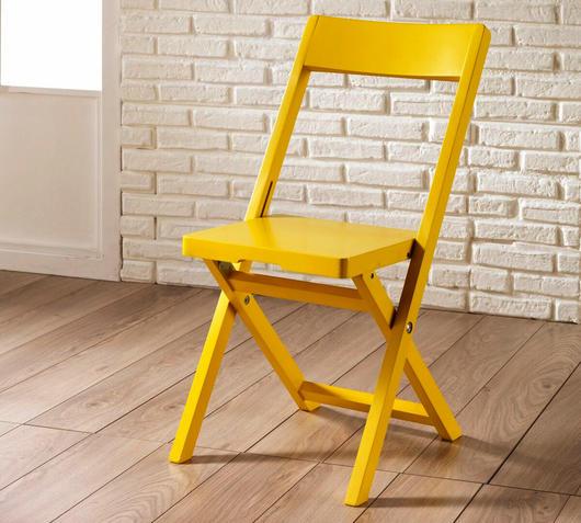 Duzzle sedia pieghevole donald gialla