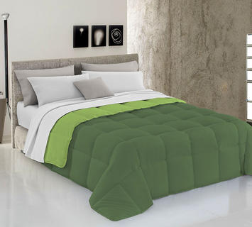 Duzzle trapunta invernale verdescuro verdemela