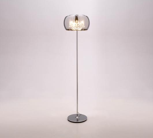 Duzzle lampada da pavimento specchio stones illuminazione accesa