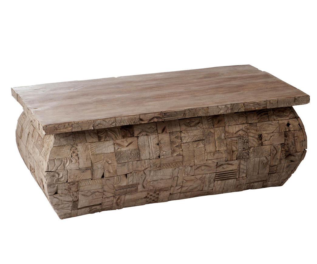 Tavolini In Legno Da Salotto : Tavolino da salotto legno grigio duzzle