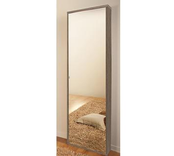 Scarpiera specchio narciso grigio chiusa