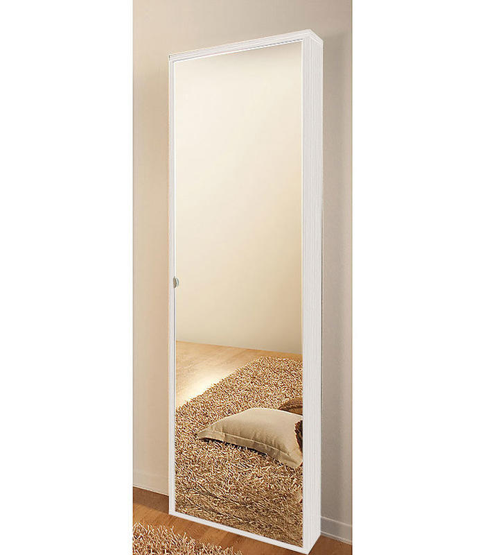 Scarpiere di design a muro portascarpe moderne online duzzle - Scarpiera specchio ikea ...