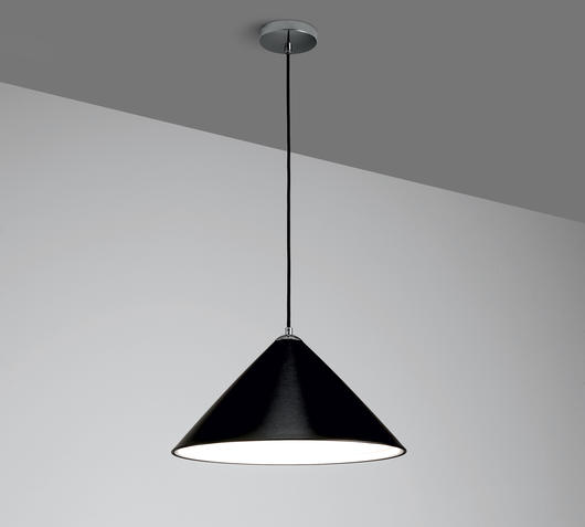 Duzzle lampada sospensione nera stones illuminazione