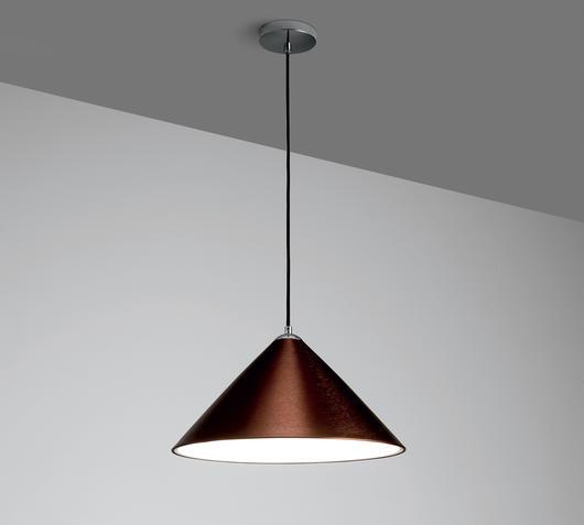 Duzzle lampade sospensione marroni stones illuminazione