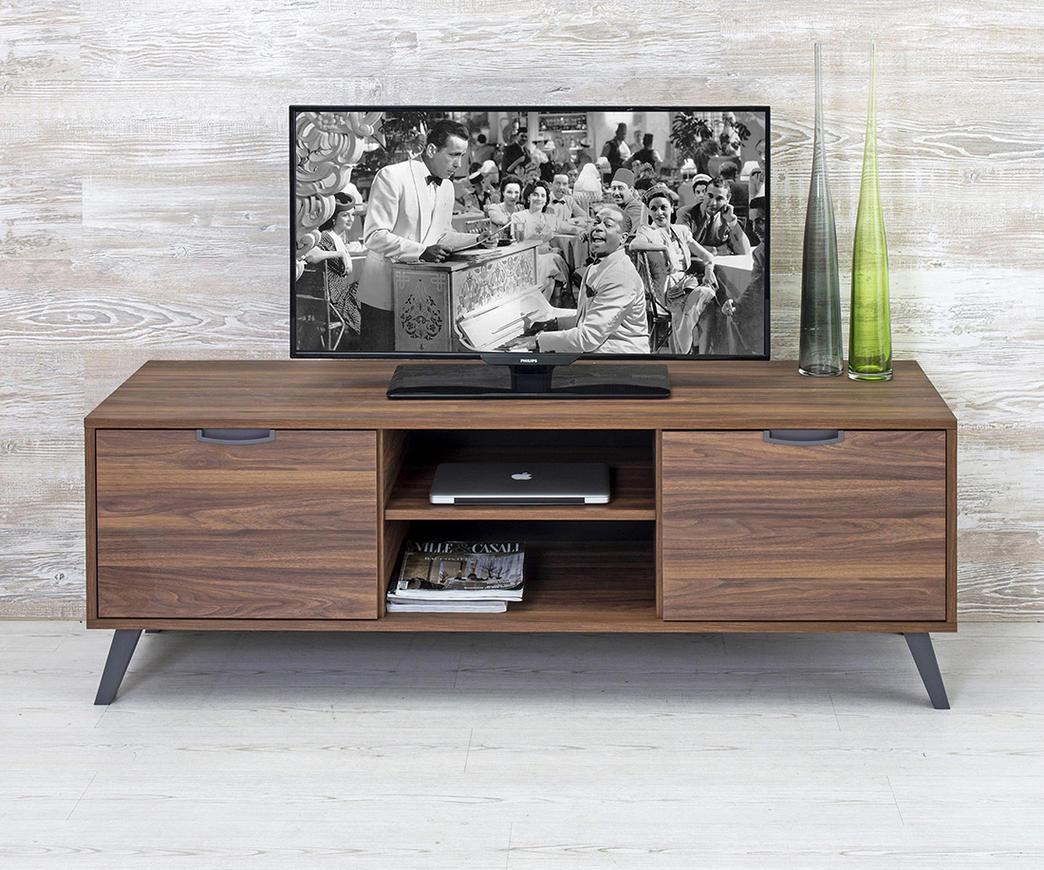 Mobile Porta Tv Legno Noce.Porta Tv Jack Noce