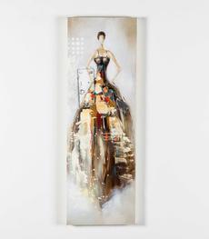 Quadri moderni in canvas su tela per arredamento duzzle for Quadri moderni in verticale