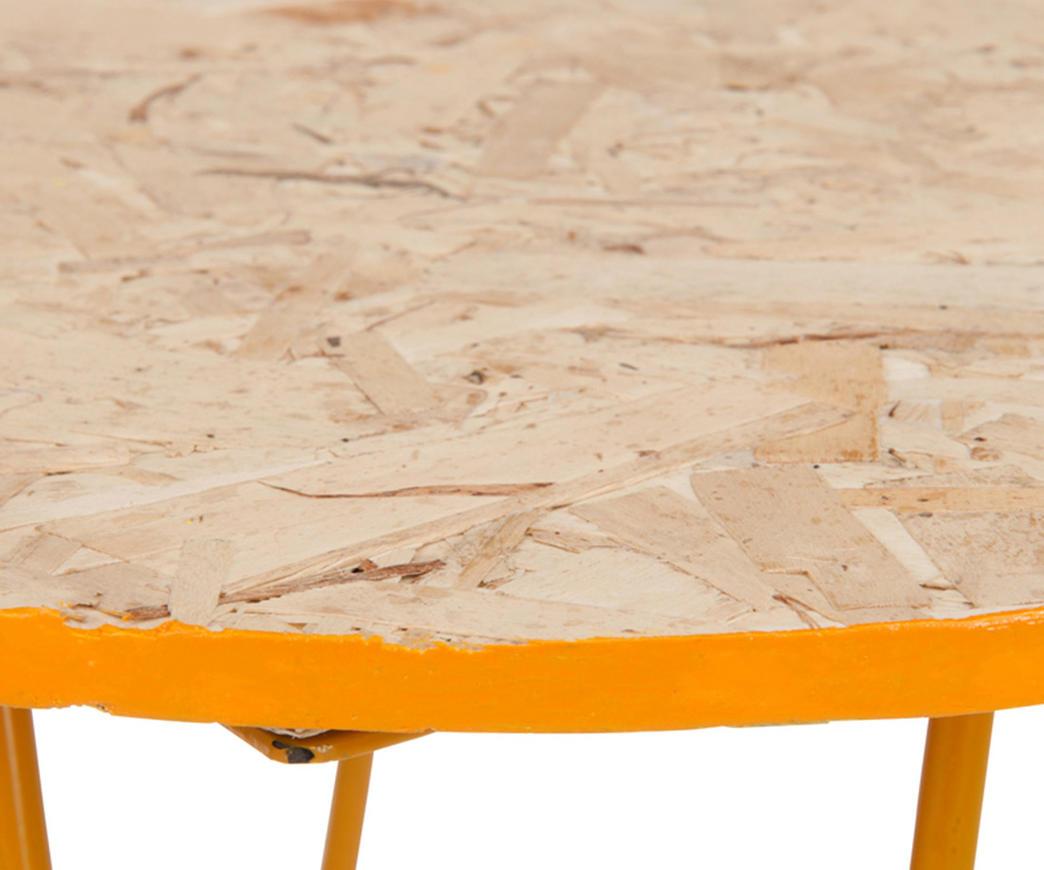 Tavolo Allungabile Giallo : Tavolino fluo fizzy arancione giallo duzzle