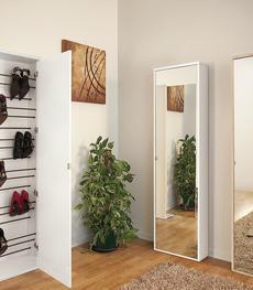 Scarpiere di design a muro portascarpe moderne online duzzle - Scarpiera anta a specchio ...