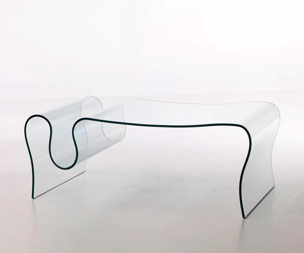Tavolini In Vetro Curvato.Dettagli Su Tavolino In Vetro Curvo Spell