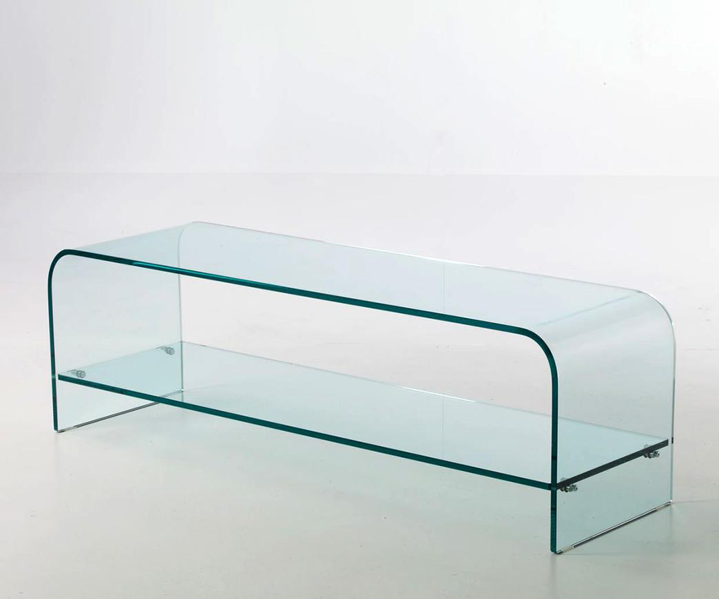 Tavolini In Vetro Porta Tv : Porta tv in vetro curvo londra ebay