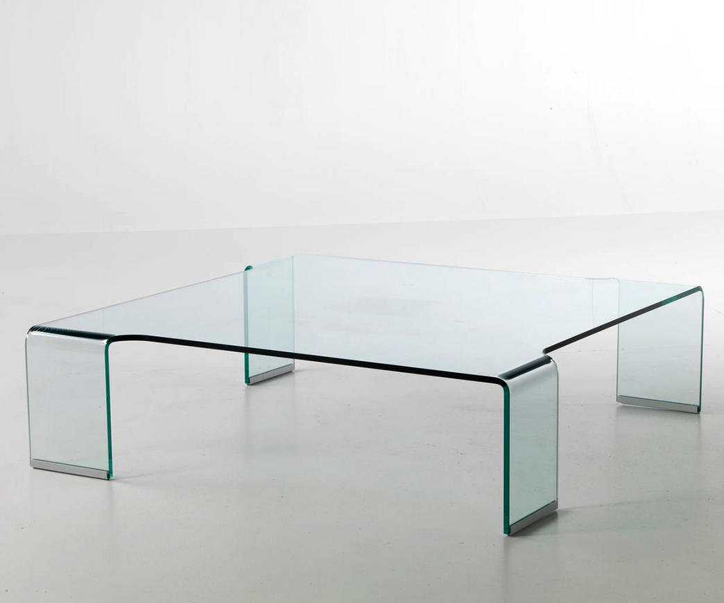 Tavolino in vetro prince duzzle
