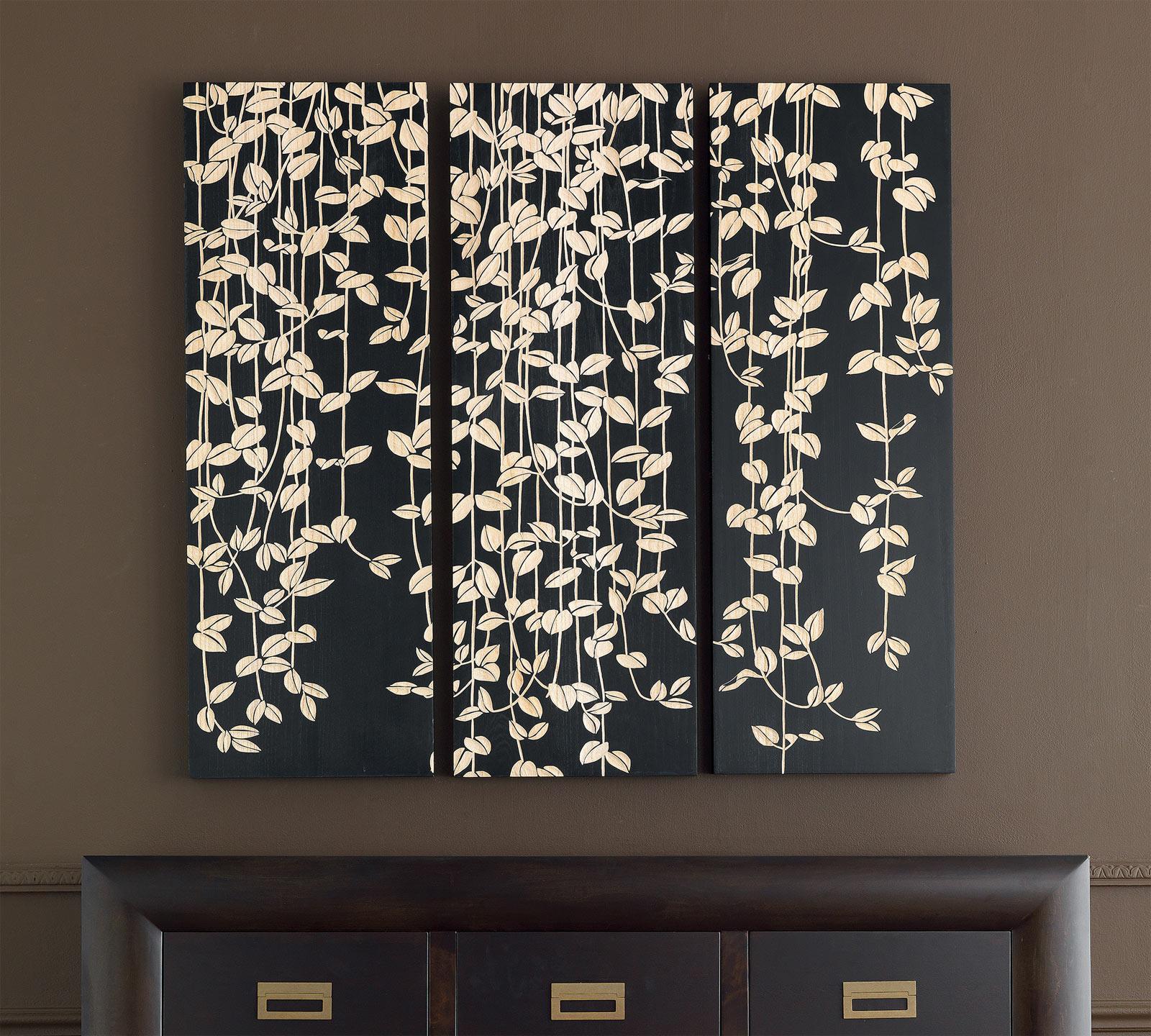 Pannello in legno intarsiato a mano duzzle for Pannelli polistirolo decorativi leroy merlin