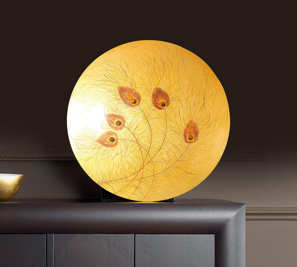 Piatto centrotavola oro duzzle for Amazon oggettistica