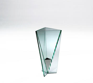 Portaombrelli vetro curvato rain
