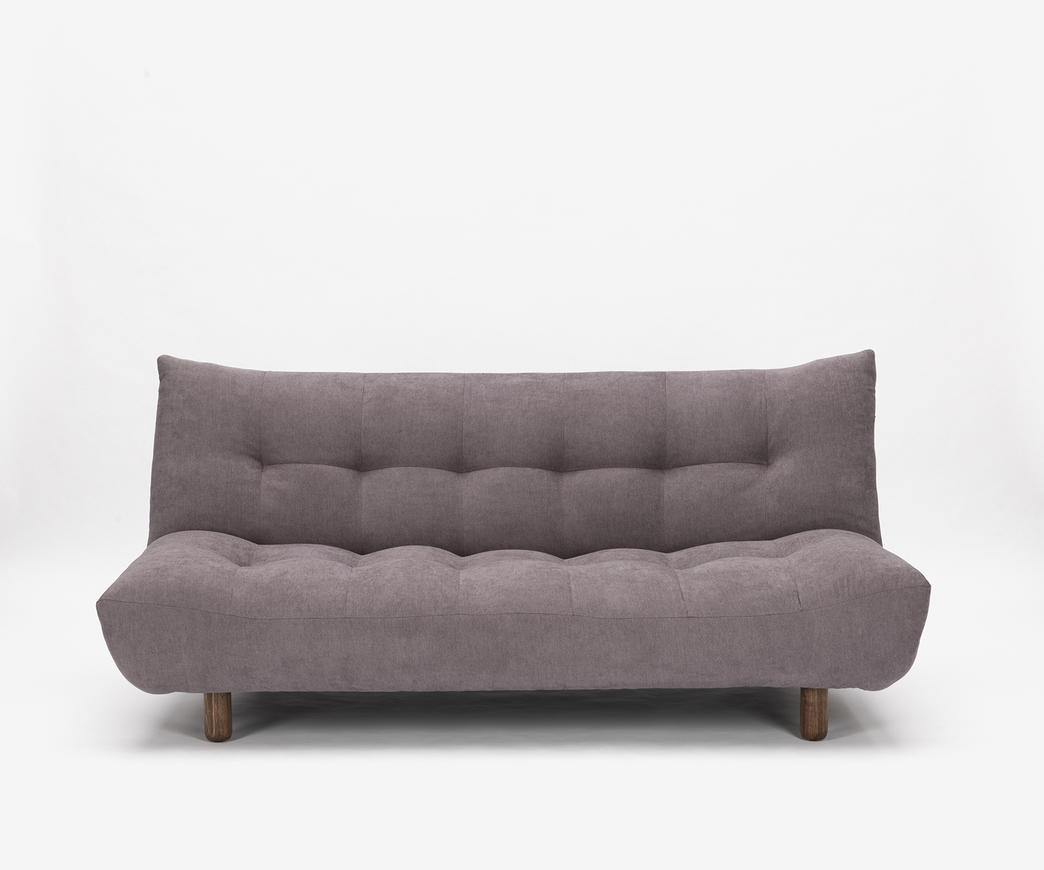 Divano letto cloud in tessuto grigio chiaro duzzle - Divano letto grigio ...