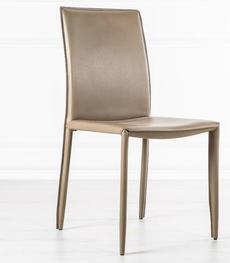 Sedie dal design moderno ergonomiche in legno o ecopelle | Duzzle