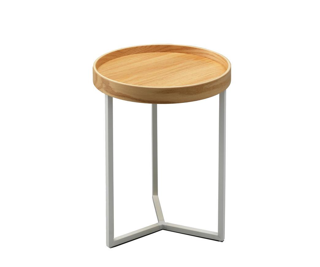 Tavolino Con Vassoio Asportabile.Tavolinetto Con Vassoio Antares Marrone