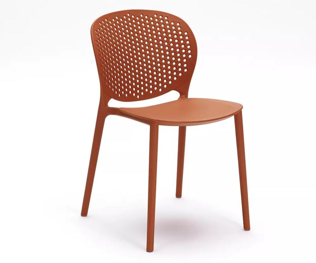 Sedie Ufficio Arancio : Sedia spot in polipropilene arancione om ar duzzle