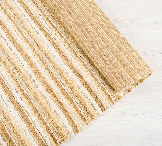 Duzzle tappeti juta marrone beige stones dettaglio