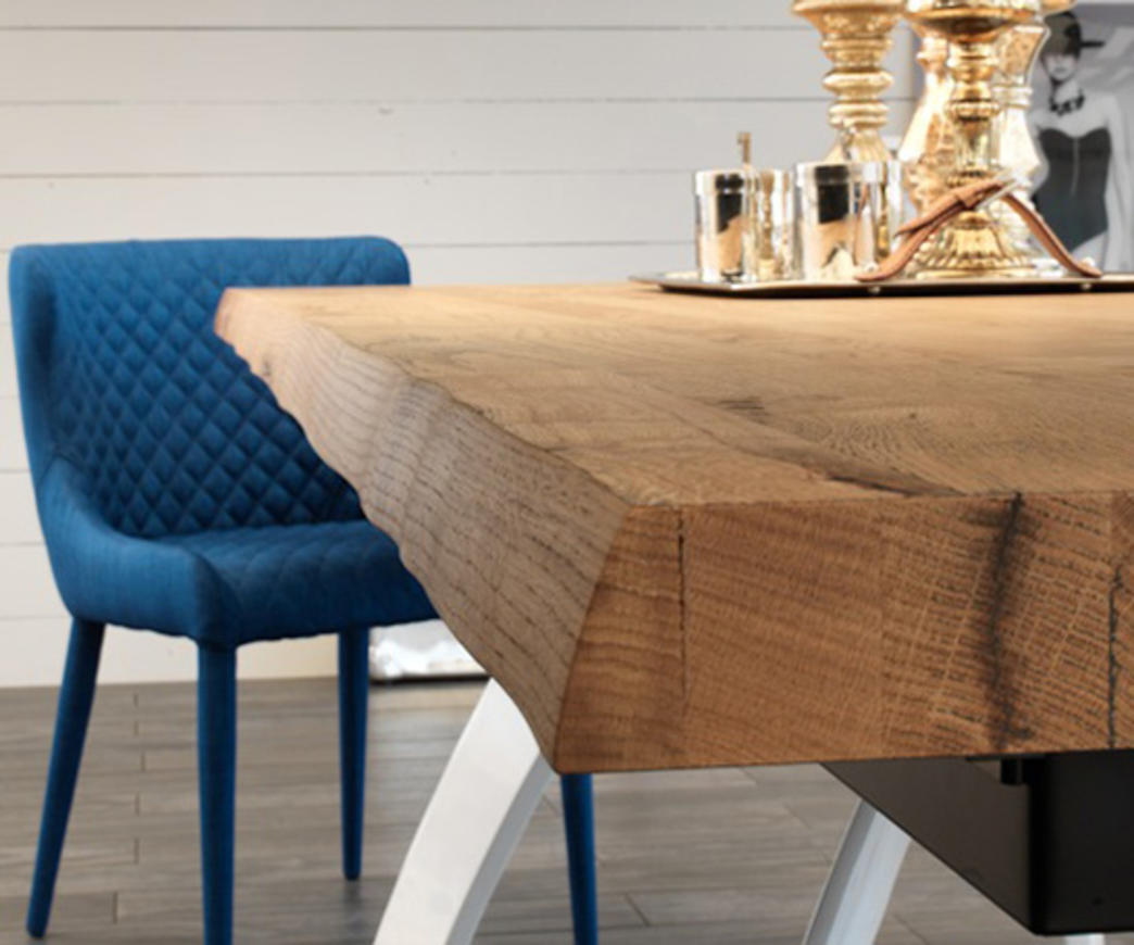 Tavolo da pranzo allungabile Bridge base bianca (fino a 240 cm ...
