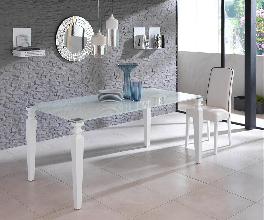 Tavolo Glamour Bianco OM/098/XW   Duzzle