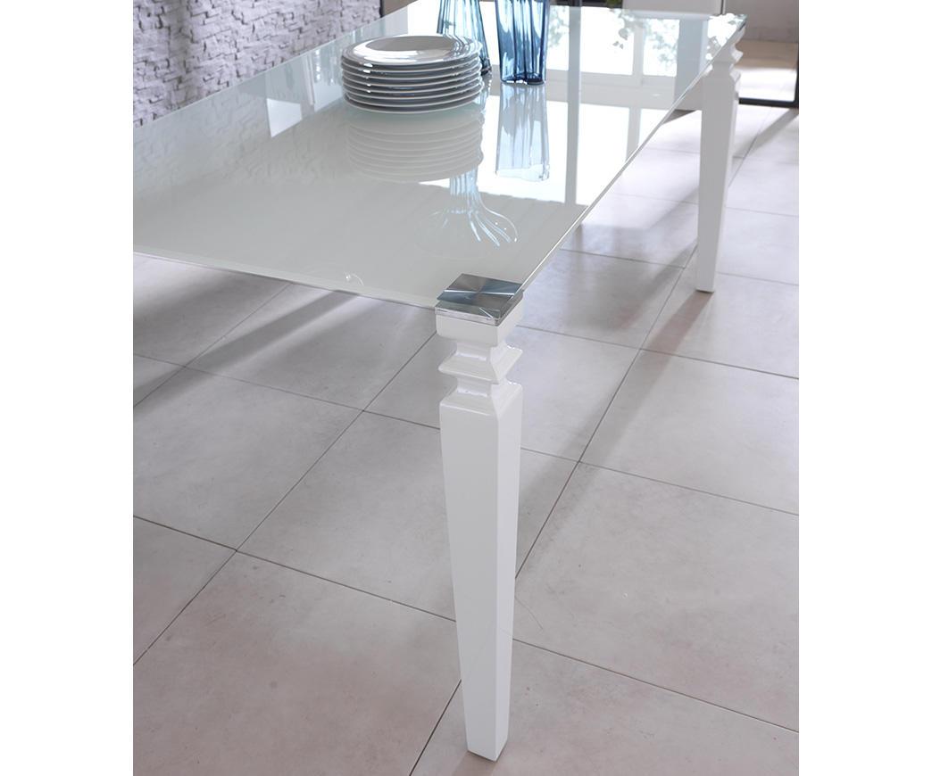 Tavolo Glamour Bianco OM/098/XW | Duzzle