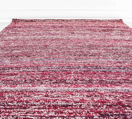 Duzzle tappeto colore rosa fatto a mano stones