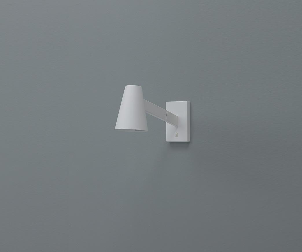 Lampada da muro fahy bianca duzzle