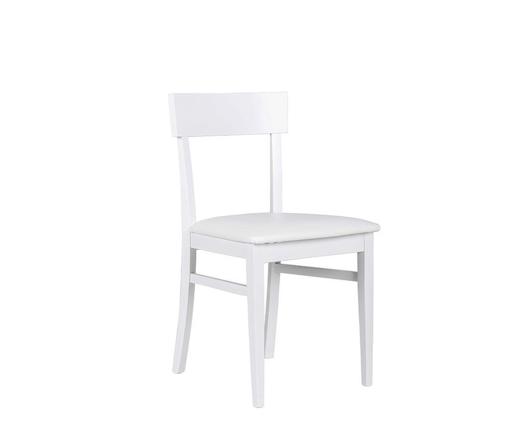 Sedia Bianca Legno.Sedia In Legno Monaco Bianca Om 172 Bi